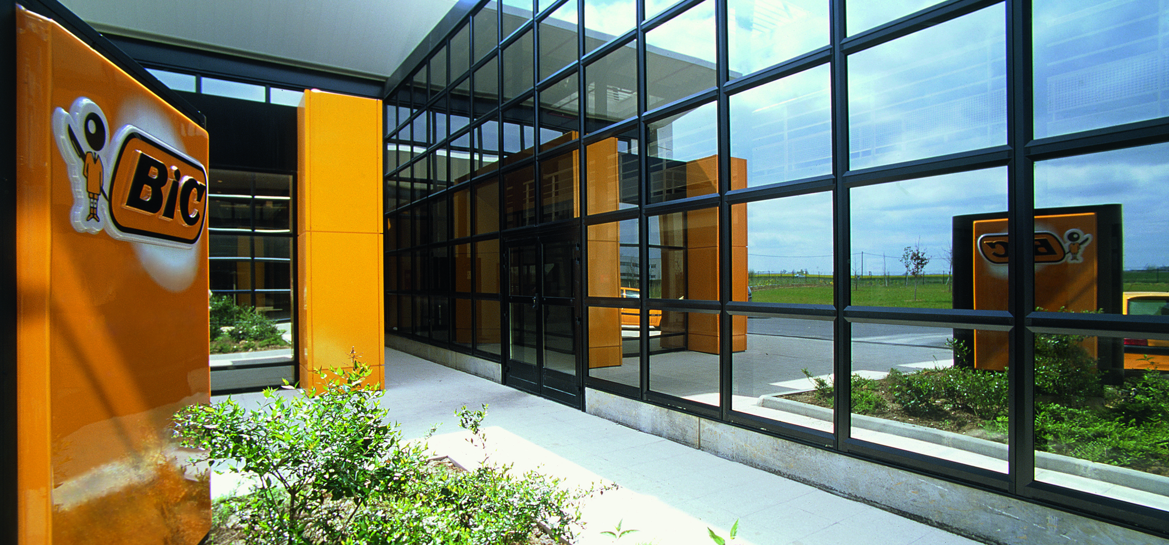 Entrance of the BIC headquarters office
