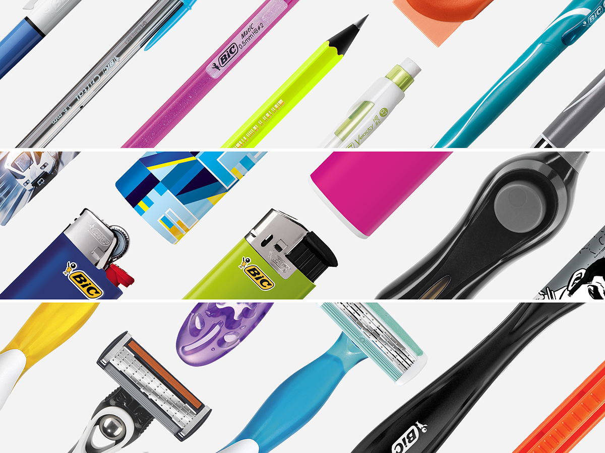 pens lighters shavers